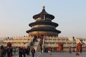 Temple of Heaven Park Beijing China