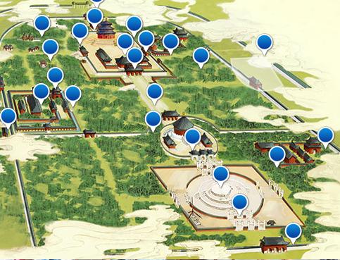 tiantan park in beijing tour